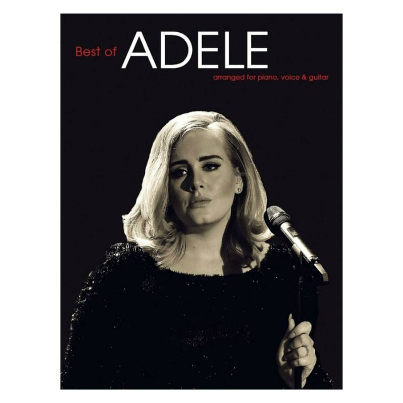 Best of Adele - Songboek