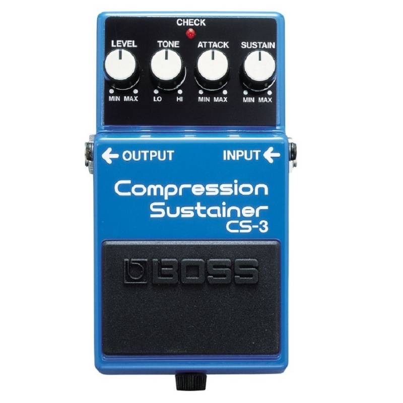 Boss CS-3 Compressor Sustainer pedaal