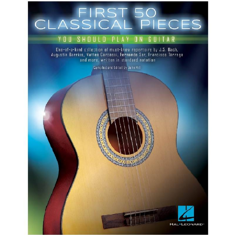 First 50 Classical Pieces - Guitar