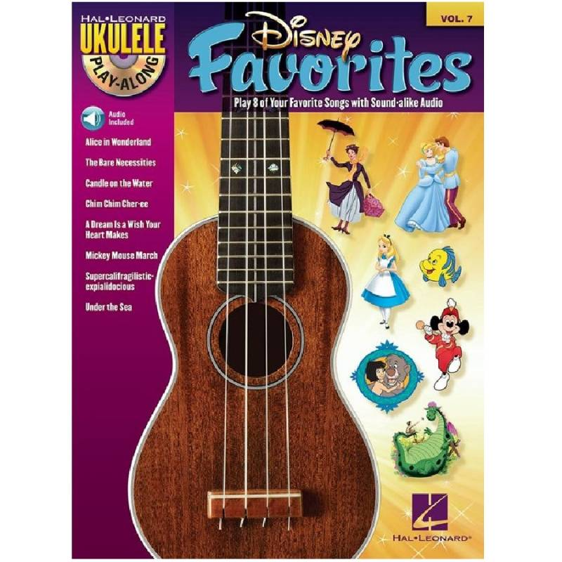 Disney favorites - Ukelele