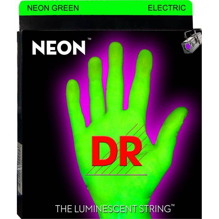 DR Hi-Def Green Electric Gitaarsnaren