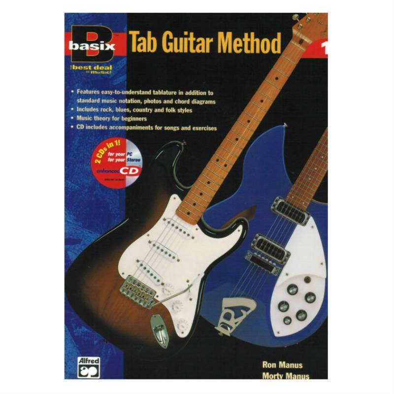 basix tab guitar method 1
