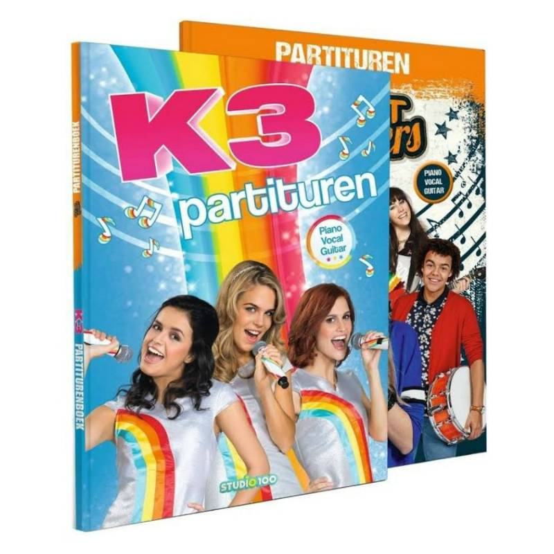K3 - Ghost Rockers Partituren