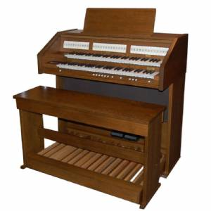 Content D4327 Orgel Occasion Donker Eiken