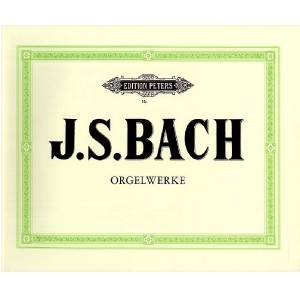 J. S. Bach Orgelwerke 9 Edition Peters