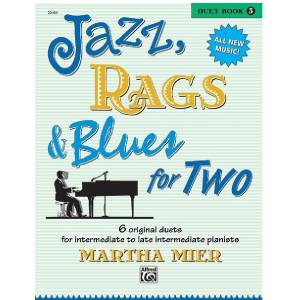 Jazz, Rags & Blues for 2 Book 3 - Martha Mier