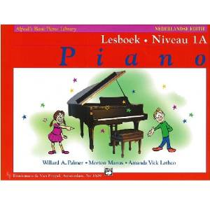 Lesboek Niveau 1A - ALFREDS Basic Piano Library