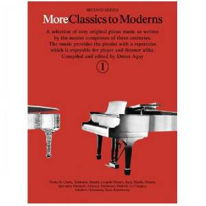 More Classics to Moderns deel 1 - Denes Agay