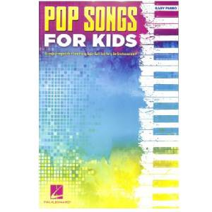 Pop Songs for Kids Easy-Piano