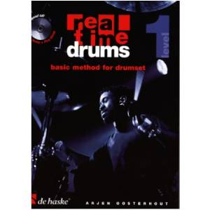 Real Time Drums 1 basic method for drumset