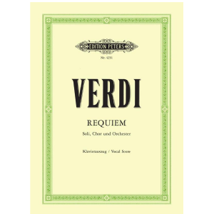 Requiem - Giuseppe Verdi Edition Peters