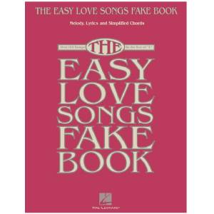 The easy love songs fake book Easy-Piano
