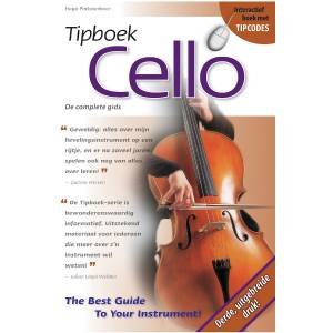 Tipboek Cello - Pinksterboer