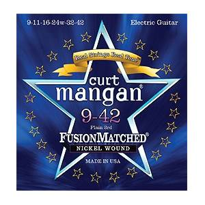 Curt Mangan 9-42 electric strings