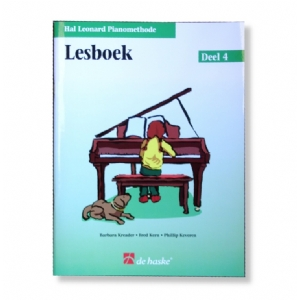 Hal Leonard Pianomethode DL4