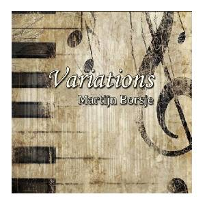 Martijn Borsje Variations ORGEL CD