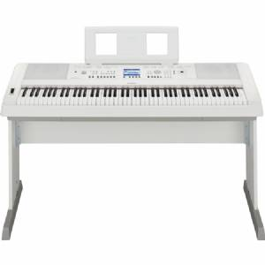Yamaha DGX650WH Keyboard - Wit