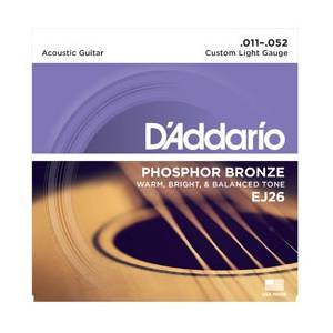 D'Addario EJ26 Custom Light Snaren