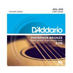D'Addario EJ16 Light Snaren