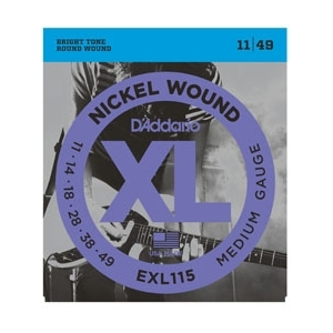 D'Addario EXL115 Blues/Jazz Snaren