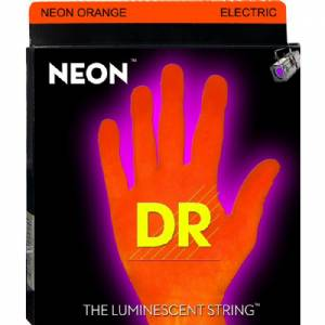 DR Hi-Def Orange Electric Gitaarsnaren