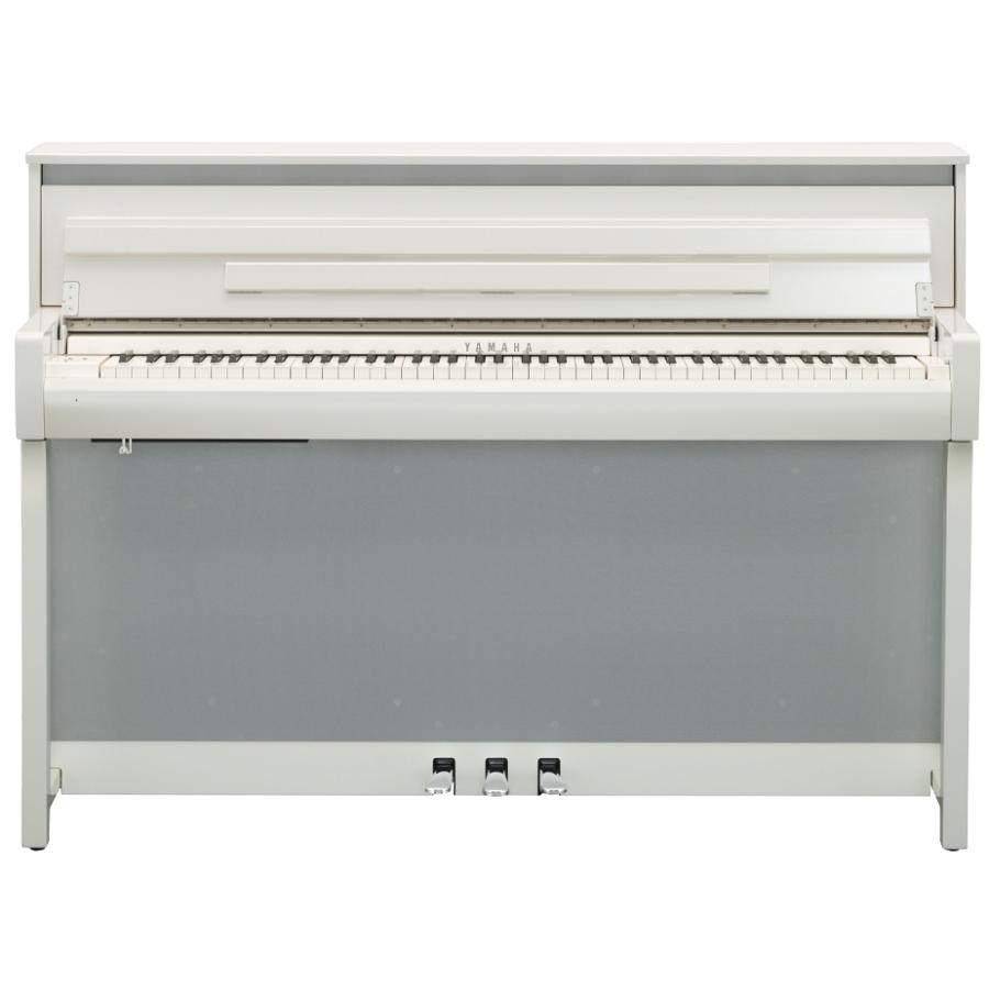 Hoogglans Witte Piano.Yamaha Clp 685pw Digitale Piano Hoogglans Wit