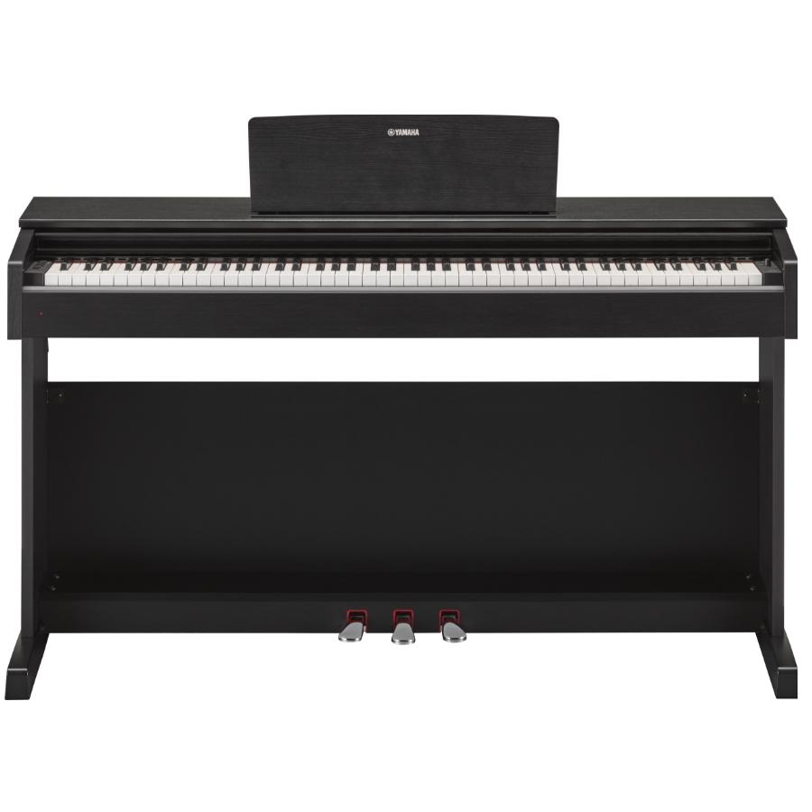 yamaha ydp143 digitale piano zwart kopen. Black Bedroom Furniture Sets. Home Design Ideas