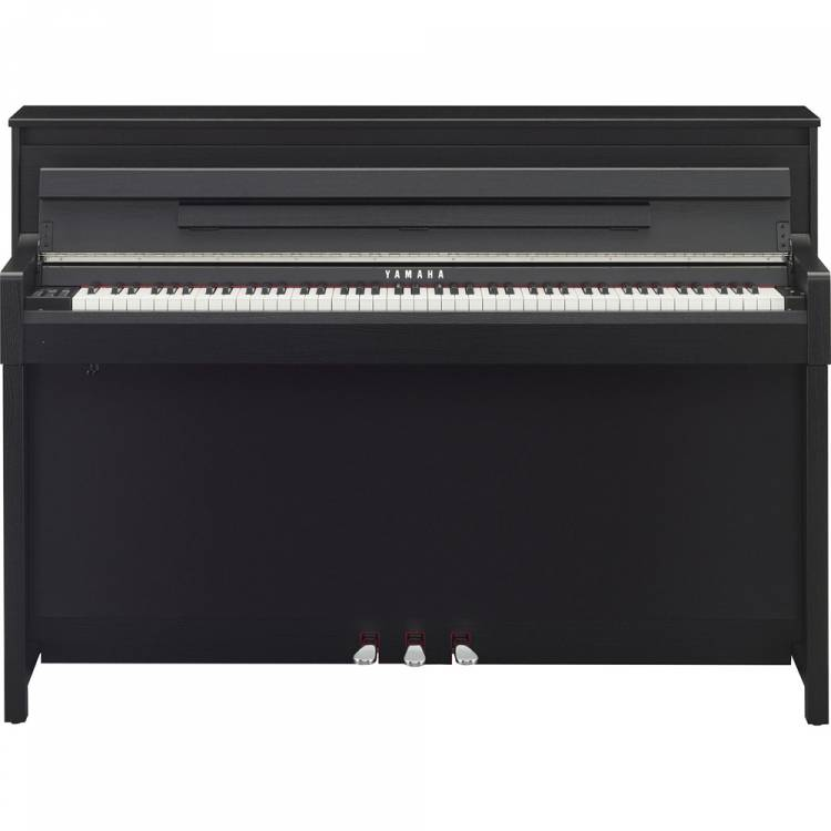 yamaha clp585b digitale piano zwart. Black Bedroom Furniture Sets. Home Design Ideas