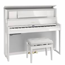Roland LX-708PW Digitale Piano - Polished White